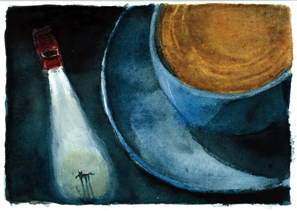 Illustratie door Jannes De Schrijver