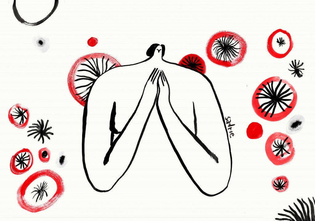 Illustratie door Sadrie