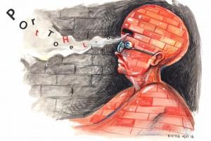 Illustratie door Leslie Saurus
